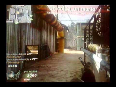 1 bullet 3 kills - Sniper Black Ops PS3
