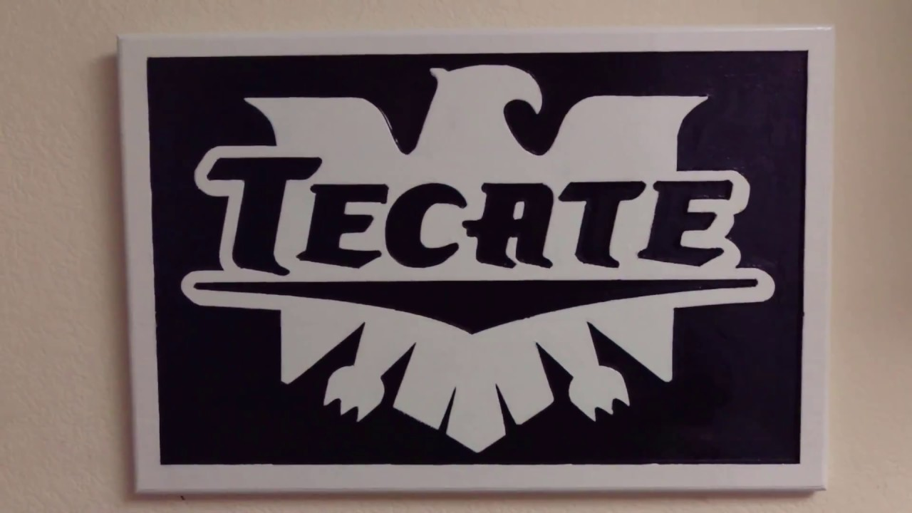 Awesome Man Cave Signs : Tecate carved wood sign beer signs awesome man cave