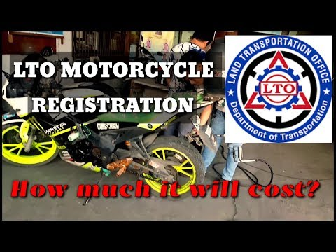 LTO REGISTRATION | HOW MUCH IT WILL COST