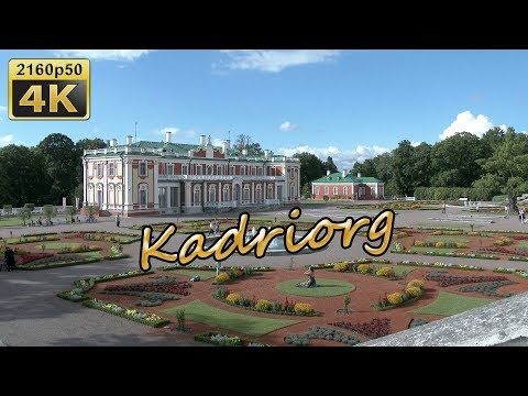 Tallinn, Old Town and Kadriorg Palace - Estonia 4K Travel Channel