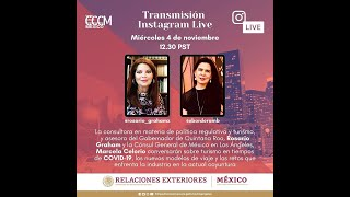 Conversación con Rosario Graham. Consultora del Gobernador de Quintana Roo: 4 de noviembre. 2020