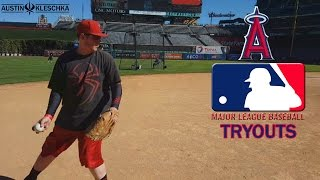 MLB TRYOUTS! | Kleschka Vlogs