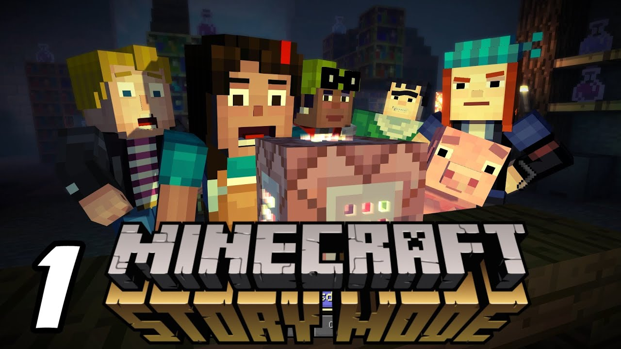 Minecraft story mode order of the stone walkthrough part 1 youtube - Minecraft story mode wallpaper ...