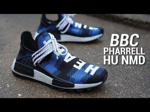 BBC x Adidas PHARRELL Human Race NMD