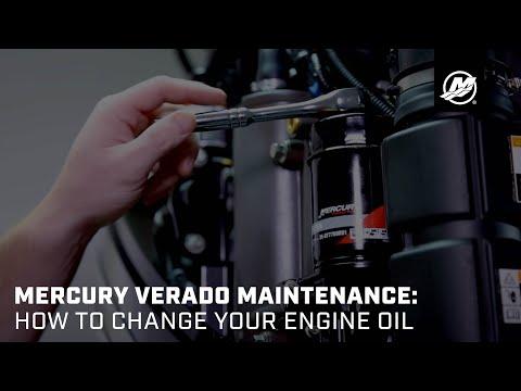 Mercury Verado Maintenance: Oil Change - YouTube