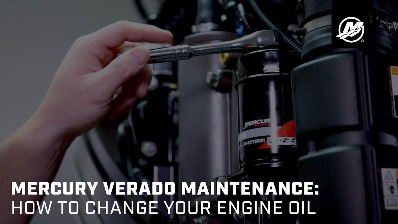 Mercury Verado Maintenance: Oil Change