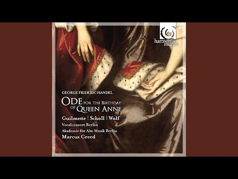 """Ode For The Birthday Of Queen Anne: VI. Duetto """"Kind Health Descends On Downy Wings"""""""