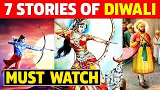 7 Stories Of Diwali   Why do we Celebrate Diwali?   Facts Explained 2020