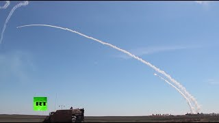 Russia tests S-300 surface-to-air missile system in combat drills in Astrakhan