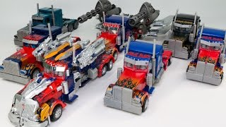 Transformers Leader Class Striker Buster Nemesis Jetwing Optimus Prime Truck 7 Vehicle Robot Car Toy