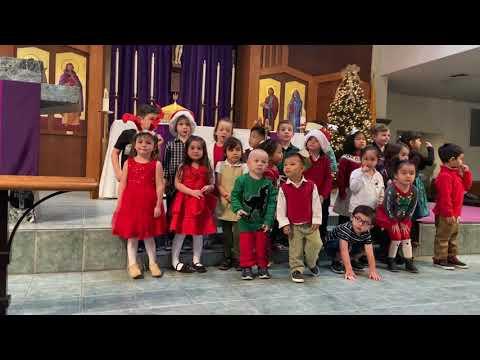 St Marys Preschool Christmas Pageant 2019