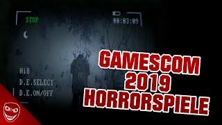 Welche Horrorspiele können wir auf der Gamescom 2019 erwarten?