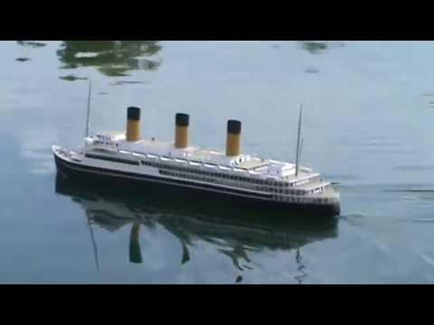 Ocean Liner L'Atlantique model MAIDEN VOYAGE