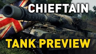 World of Tanks || Chieftain Mk. 6 - Tank Preview