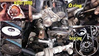 Cara Ganti #Water Pump #Oil Seal #Bearing #Timing Belt #TutorialDiy #Automotif #AlanStyle
