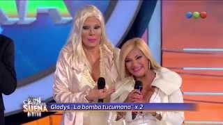 Devolución, Gladys La Bomba Tucumana, La pollera amarilla - Tu Cara me Suena 2014