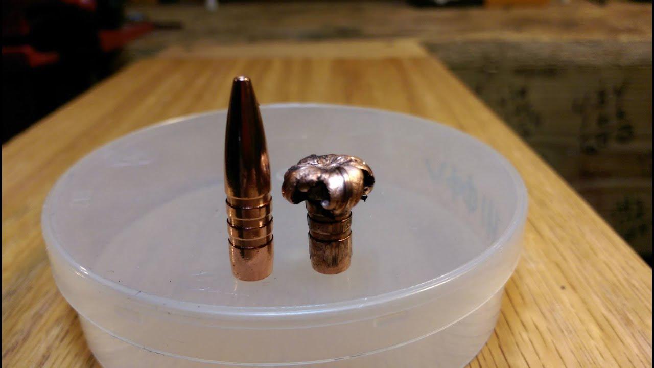 The same 85 grain tsx 6.8 penetration