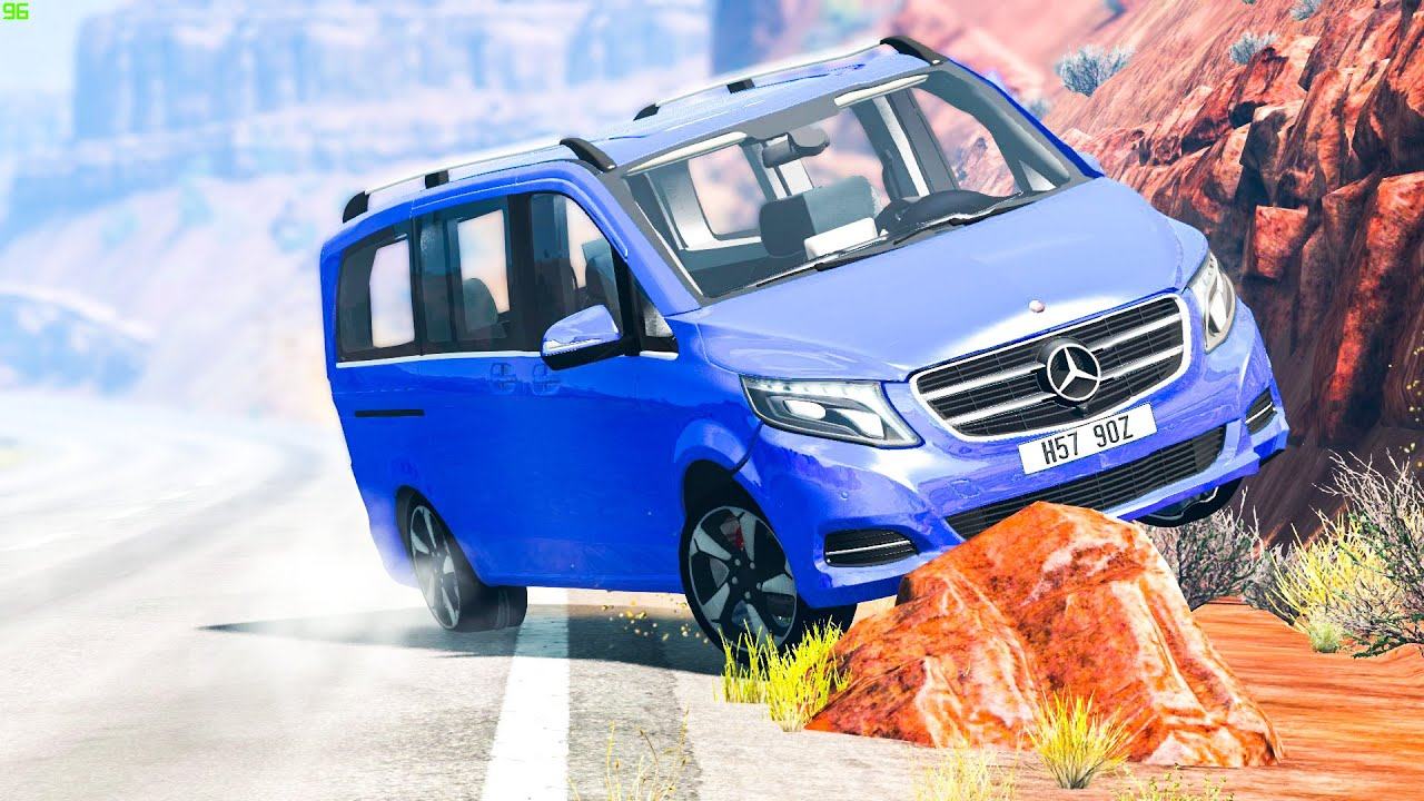 Extreme Car Crashes #181 - BeamNG Drive | CRASHdriven