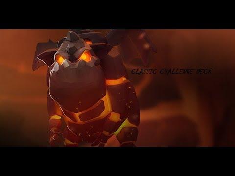 Clash Royale Greek - lava hound classic challenge deck!!!