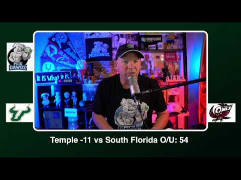 Temple vs South Florida Free College Football Picks and Predictions CFB Tips Saturday 10/17/20