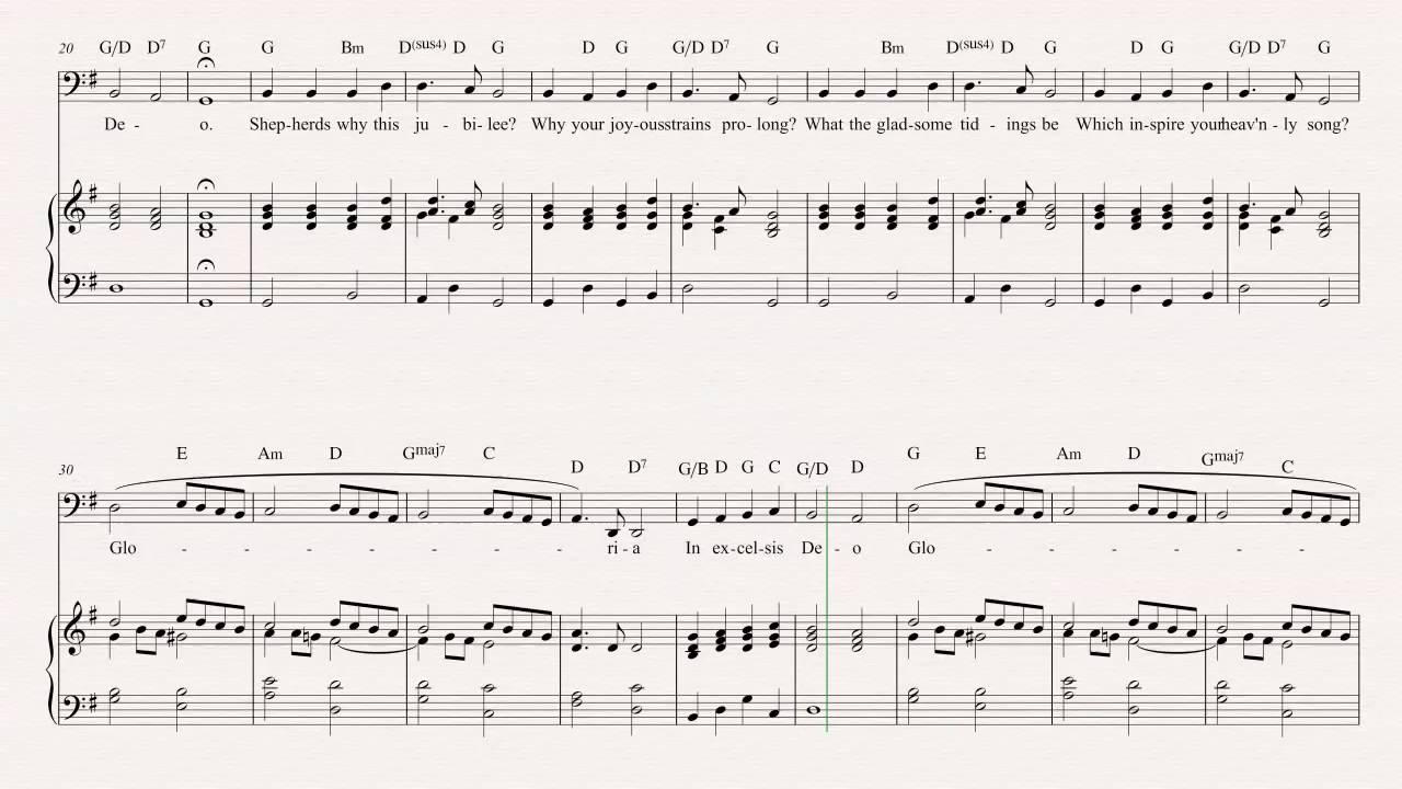 Tuba - Angels We Have Heard On High - Christmas Carol - Sheet ...