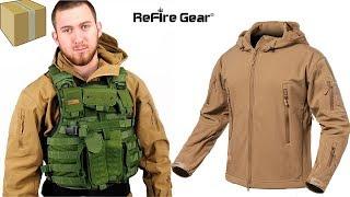 Обзор тактической куртки с алиэкспресс от Refire gear