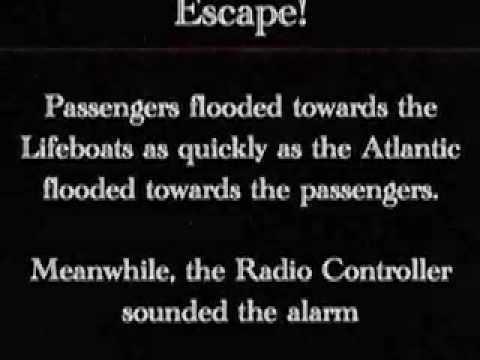 Titanic Video with Morse Code Percussion.