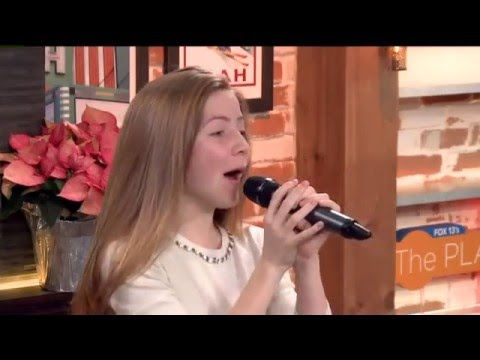 """Lexi Walker - """"When a Child is Born"""" + interview (Live at FOX 13's The Place 2015)"""