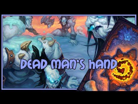 Hearthstone: Kolento with a dead man's hand (fatigue warrior)