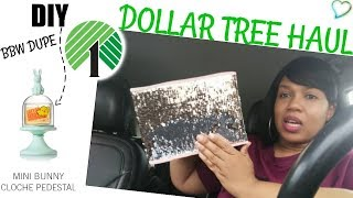 NEW DOLLAR TREE FINDS & SIMPLE DIY / EASTER DECOR