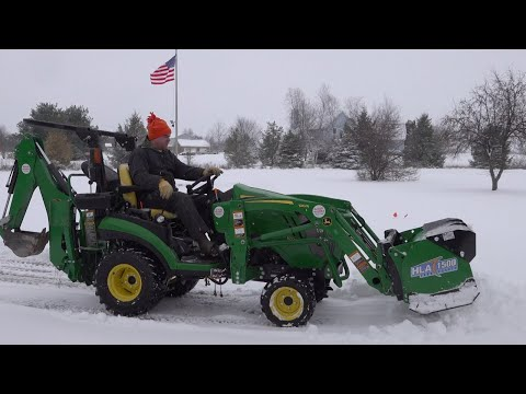 4 Snow Removal Options For Compact Tractors