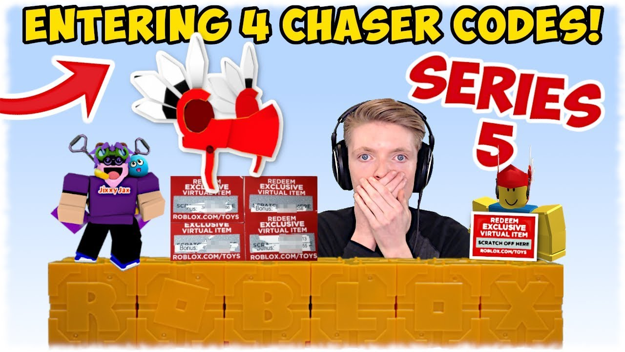 roblox chaser codes series 5