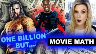 Aquaman joins Billion Dollar Club! But The Upside #1 Box Office