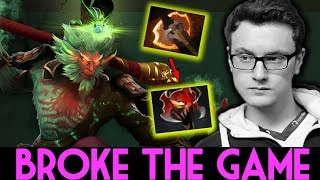 BROKE THE GAME!! CARRY Monkey King 960 GPM by Miracle- Dota 2 7.07