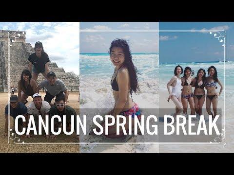 LIFE AT COLUMBIA | Cancun Spring Break 2k17