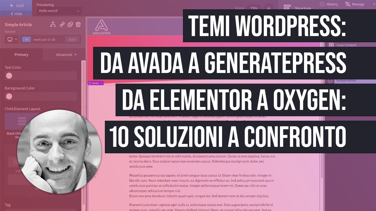 10 temi WordPress a confronto