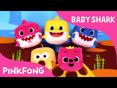 CUBE Baby Sharks | Pinkfong Cube | Animal Songs | Pinkfong Songs for Children