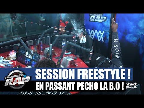 Youtube: En passant pécho – Session freestyle avec Alkpote, Luv Resval, Savage Toddy & Noti! #PlanèteRap