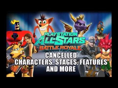 Playstation All-Stars Battle Royale- Cancelled Characters, Stages And More