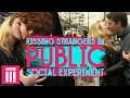 Is Kissing Strangers In Public Disgusting? | Social Experiment video
