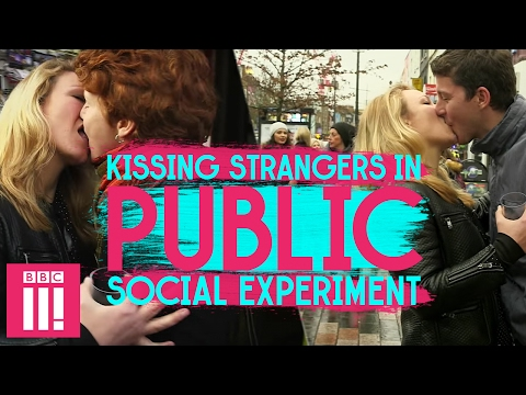 Is Kissing Strangers In Public DISGUSTING? | Social Experiment