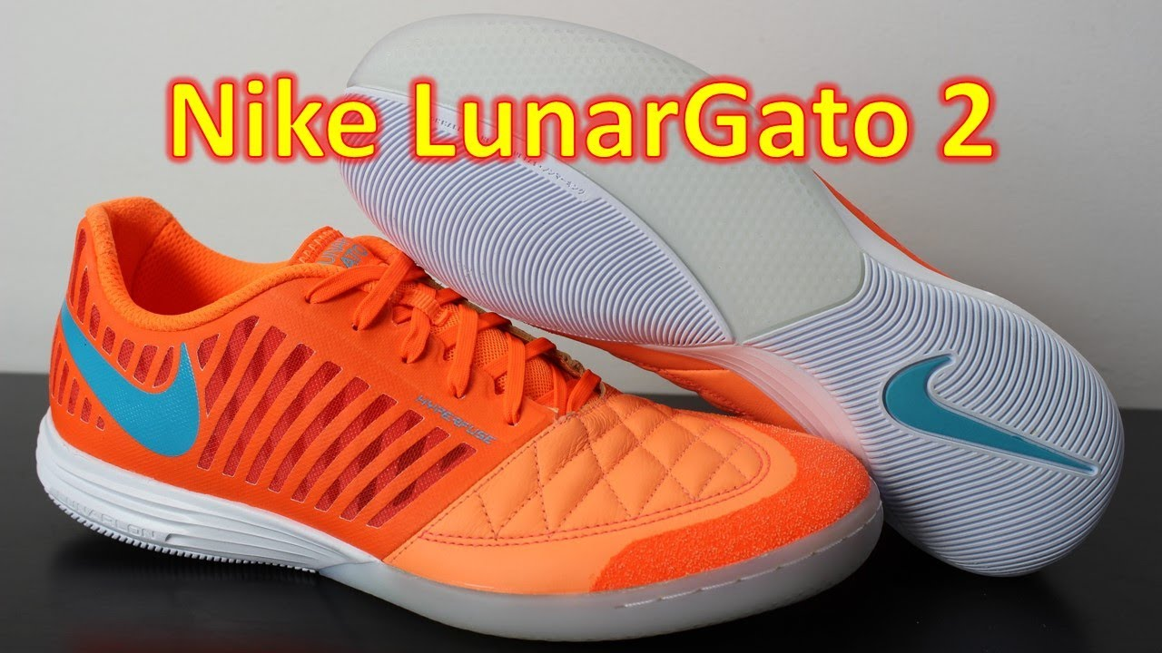 Nike FC247 Lunargato 2 Atomic Orange/Gamma Blue - Unboxing + On Feet -  YouTube