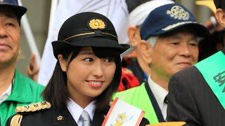 平成28年10月10日に行われたももクロの佐々木彩夏さんの鎌倉警察署にお...