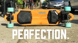 LIKE BOOSTED but $400 with DUAL BELT DRIVE MOTORS -28mph PAEAN Electric Skateboard Review + Giveaway