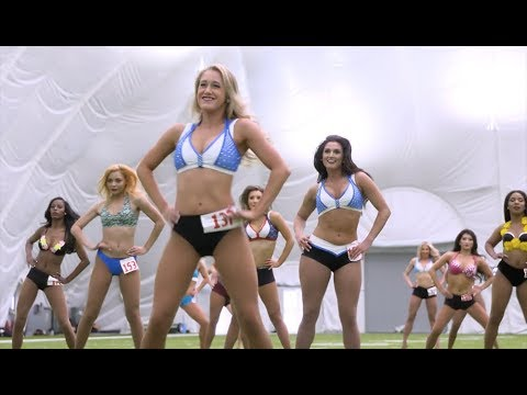 Titans Cheerleaders 2018 Preliminary Auditions