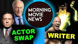 Kevin Spacey replaced by Christopher Plummer, Black Adam movie Screenwriter