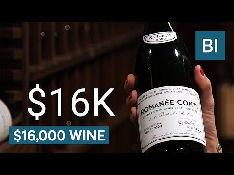 wine article Why Domaine de la RomaneConti wine costs 16000 per bottle
