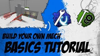 ROBLOX Build Your Own Mech : Basic Tutorial (Alle Dinge, die Sie wissen müssen)
