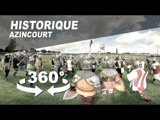 Revivez en immersion la bataille d'Azincourt