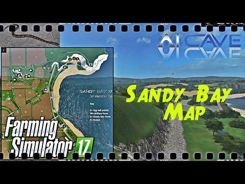 Farming Simulator 17: Hate Snakes? Don't Watch It - Sandy Bay 17 Map Mod (PC, MAC, PS4, XB1)